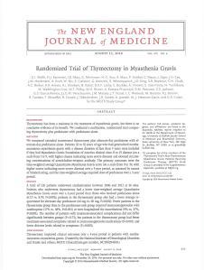 thymectomy