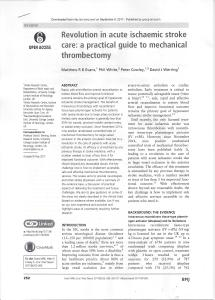 Thrombectomy Review